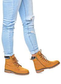 кафяви дамски обувки 1