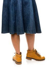 кафяви дамски обувки 2