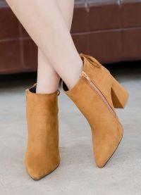 кафяви дамски обувки 4