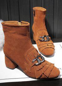 кафяви дамски обувки 5