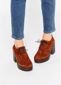 кафяви женски обувки 6