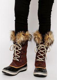 кафяви дамски обувки 7