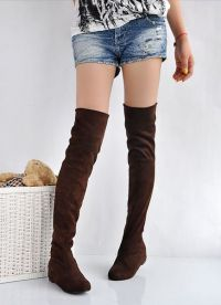 Brown Suede Boots2
