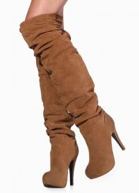 Brown Suede Boots3