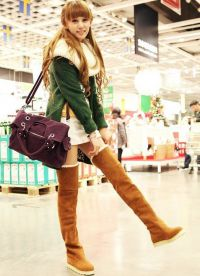 Brown Suede Boots4