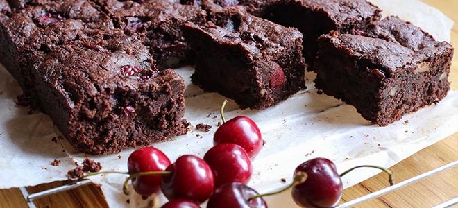 Classic Brownie - recept s trešnjom
