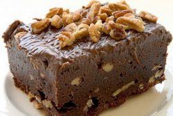 przepis brownie z orzechami