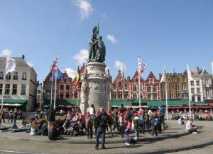trgovački trg u Brugesu