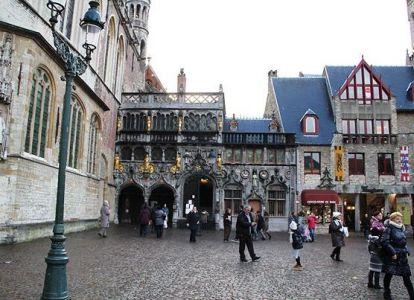 Bazilika Brugge Svete Krvi