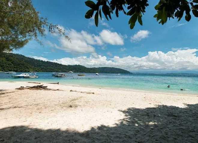 Пляж Тунгку