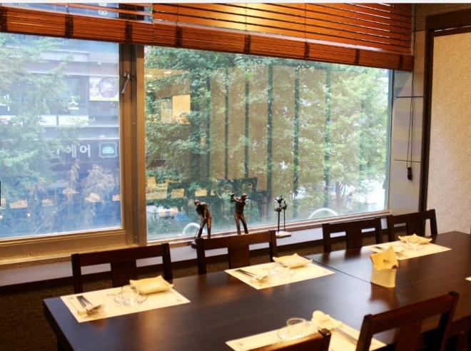 Один из лучших ресторанов корейской кухни