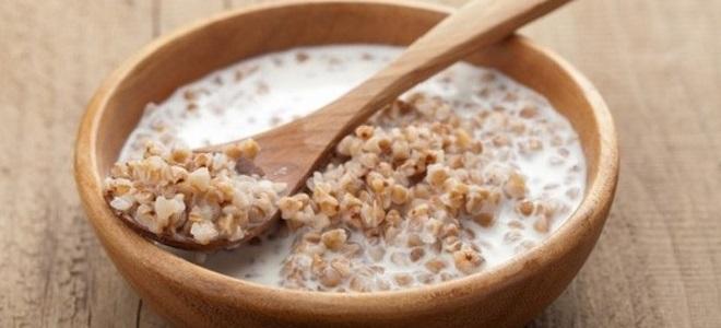 kasza gryczana ryżowa z mlekiem