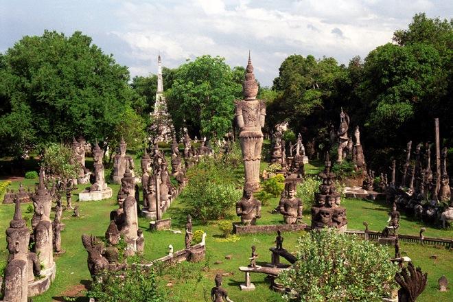 Парк в Лаосе