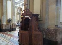 Исповедальня в кафедральном соборе Буэнос-Айреса
