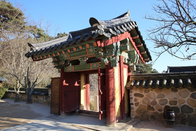 Ворота комплекса