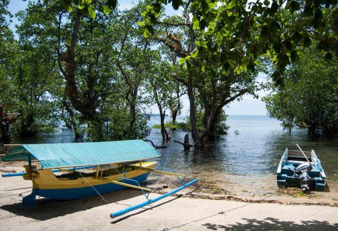 Лодка для туристов
