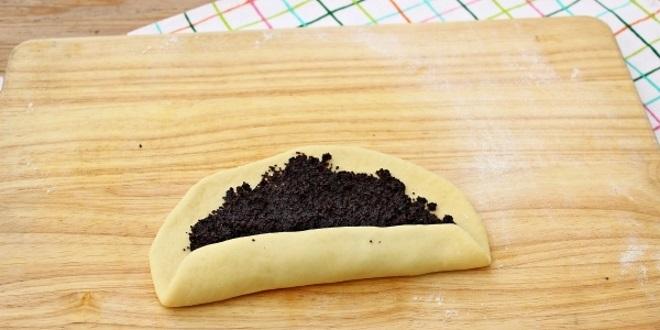 Bułeczki piekarnicze z makiem i cukrem - przepis Wypełnienie
