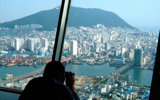 Вид с Busan Tower