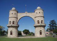 Город Вилья-Карлос-Пас в провинции Кордова
