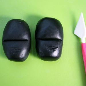 Jak vyrobit dort Minion mastic - master class 10