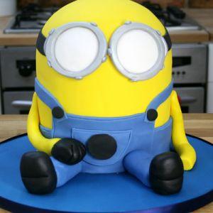 Jak vyrobit koláč Minion mastic - master class 12