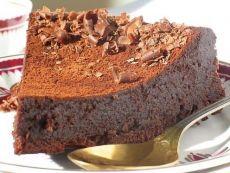 čokoládový zmrzlinový dort