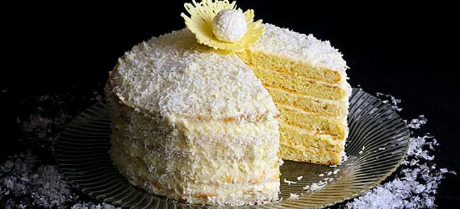 białe ciasta na ciasto rafaello