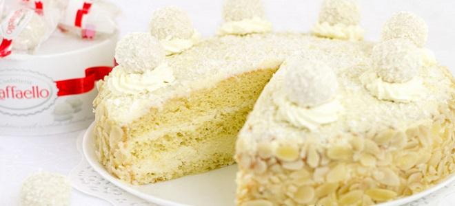 Ciasto na herbatę Raffaello