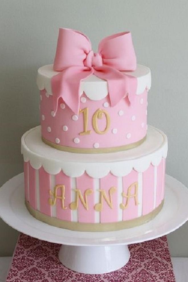 Kako ukrasiti kolač za djevojku s vlastitim rukama 5