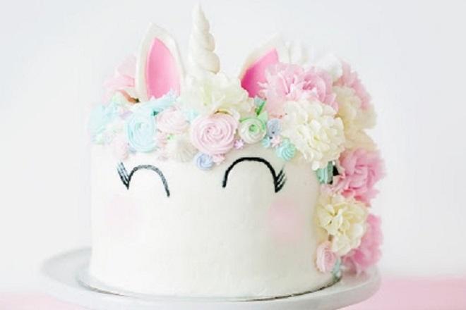 Dječja torta od mastika za djevojčice 5