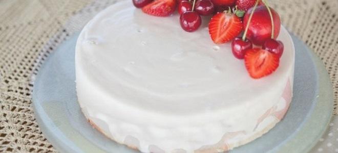 Бела шлага за торту