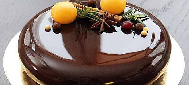 Огледало за залеђивање торте - рецепт