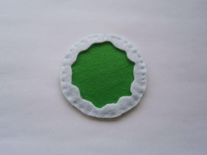 Fałszywe ciasto - montaż