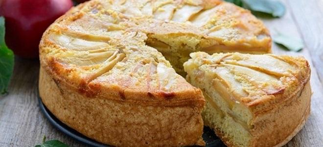 """Пита """"Цхарлотте"""" са јабукама - једноставан рецепт"""