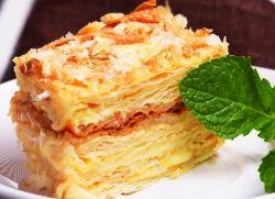 ciasto francuskie napoleon