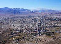 Общий вид на город Калама