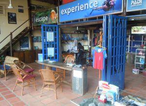 Офис одного из дайв-центров Камбоджи