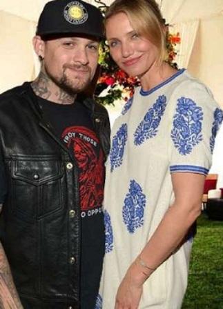 Кэмерон  с мужем