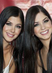 Марианна и Камила Давалос - сестры-близнецы