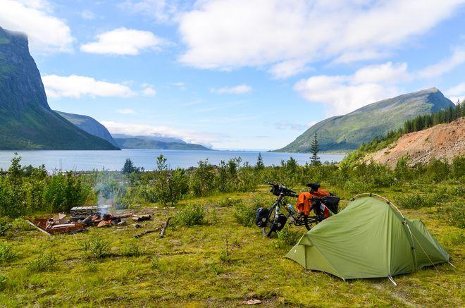 Кемпинг Senja в Норвегии