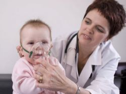 инхалација на температури код деце
