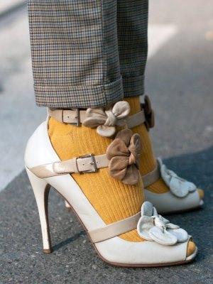 Могу ли носити сандале са најлонским панталозом?