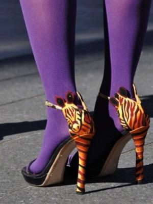 Могу ли носити сандале са најлонским пантихосе6