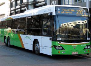 Автобус в Канберре
