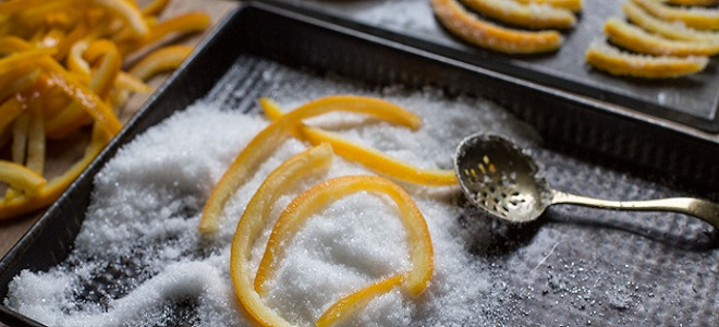 Kako napraviti slatkast naranče peels