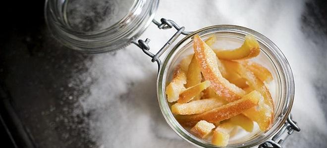 Kako zadržati domaće kandirano voće