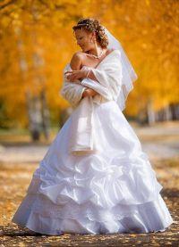 obleke za poročno obleko za jesen1