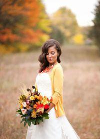 obleke za poročno obleko za jesen6