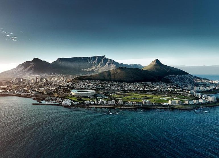 Cтоловая гора и Кейптаун