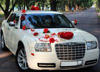 dekoracja samochodu na wesele3